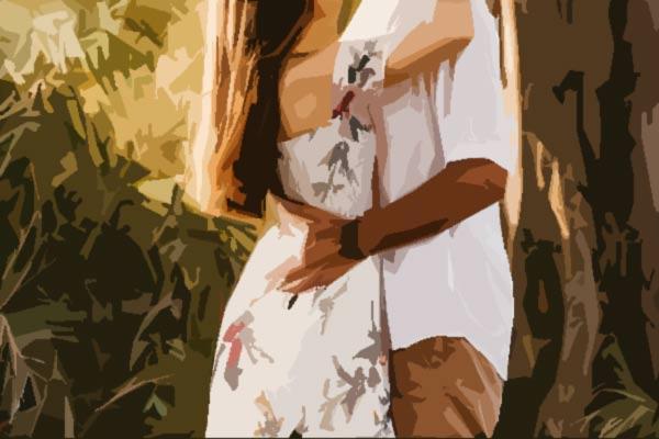Puusad koos kallistus
