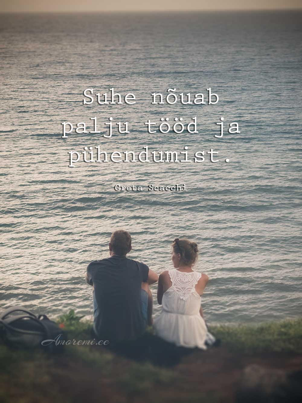 Mees ja naine koos - tsitaat suhetest