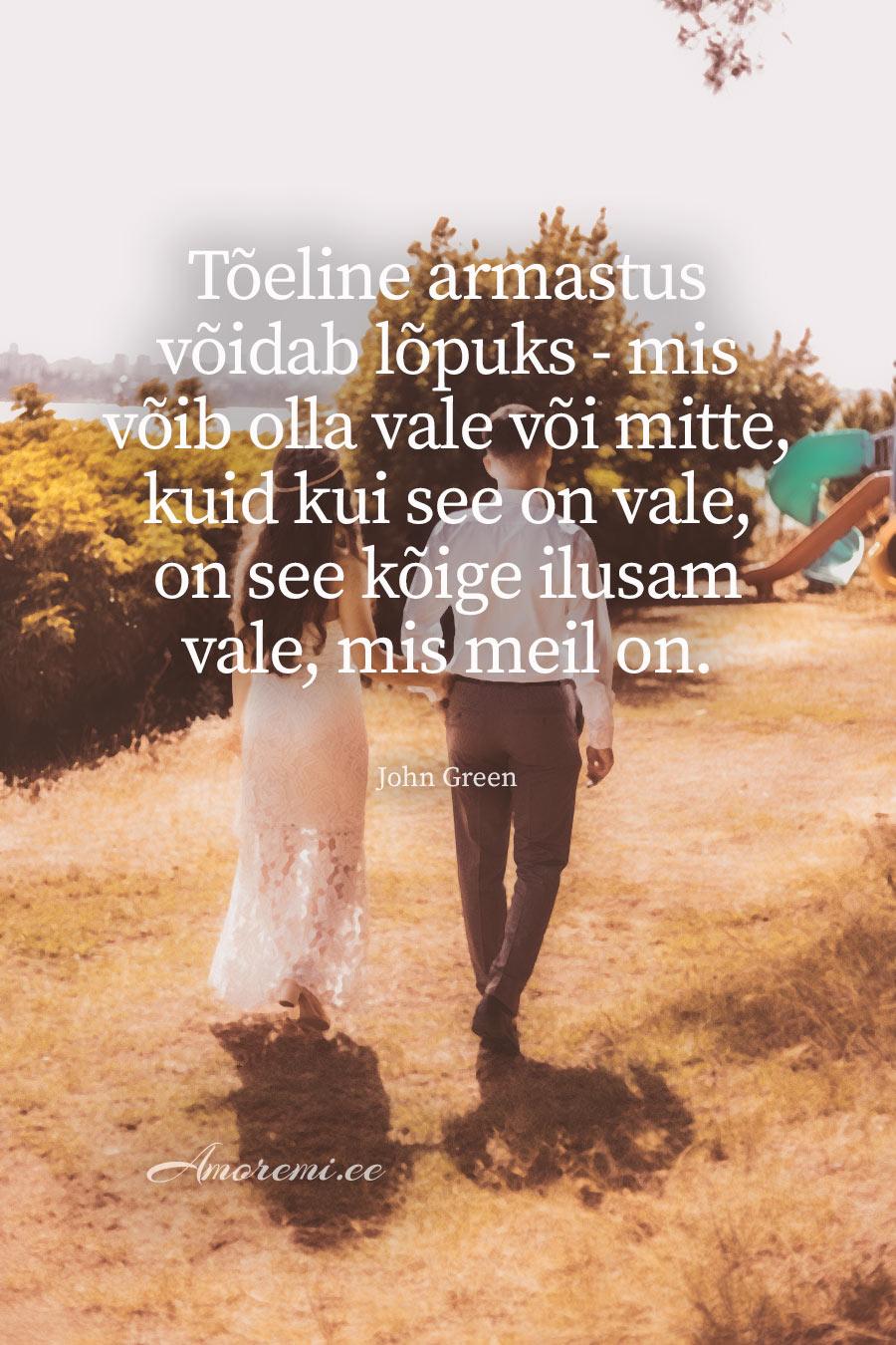 Amoremi tsitaadid: Tõeline armastus võidab ..