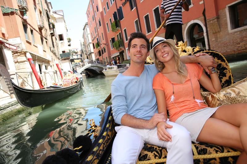 Armastus reisil: armas paar Veneetsias
