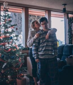 Kaaslasega koos jõuluajal