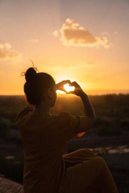 Armastuse leidmine: naine südamega
