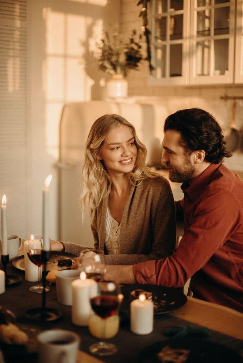 Kaaslasega romantiline õhtusöök