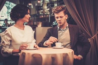 Esimene kohting kohvikus